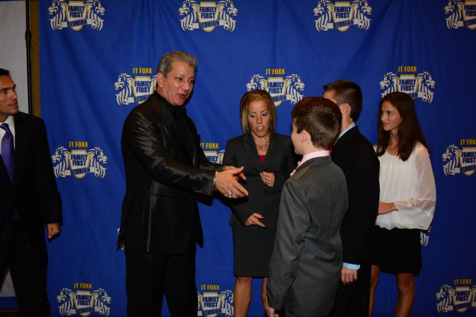 Bruce Buffer, official Octagon Announcer for UFC events, steps in to give our teenagers some life advice.