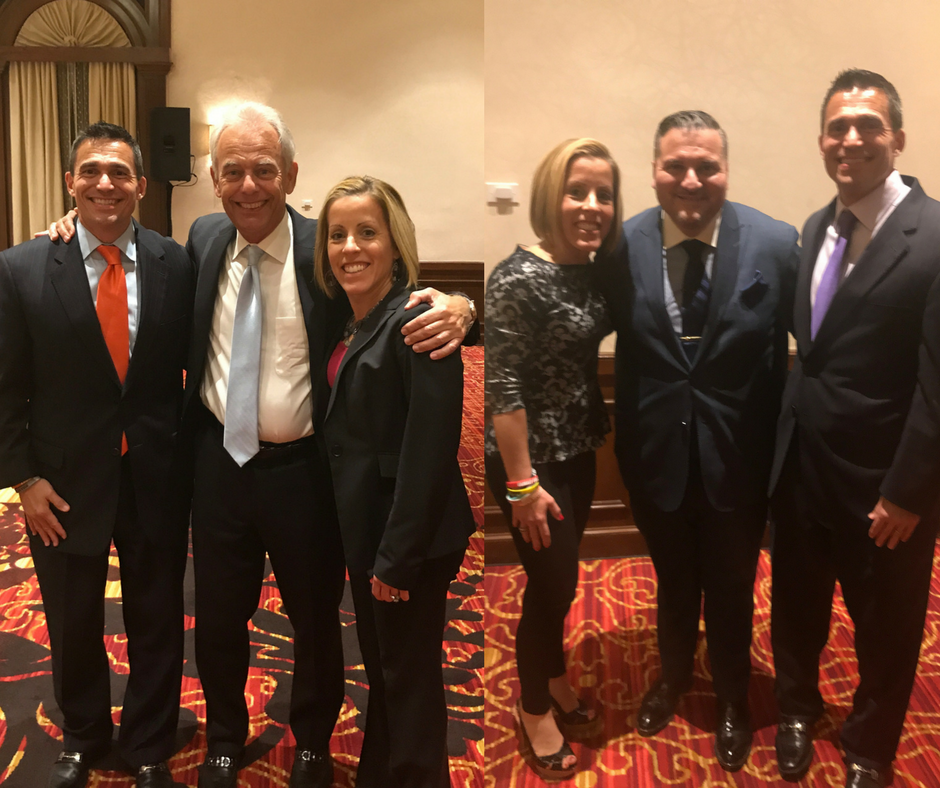 Craig and Jenny with Hugh Hilton, CEO & Managing Director at Alvarez & Marsal Capital Real Estate, LLC and Founding Partner of A&M CapRE and with Anthony Lolli, Founder of Rapid Realty and real estate developer.