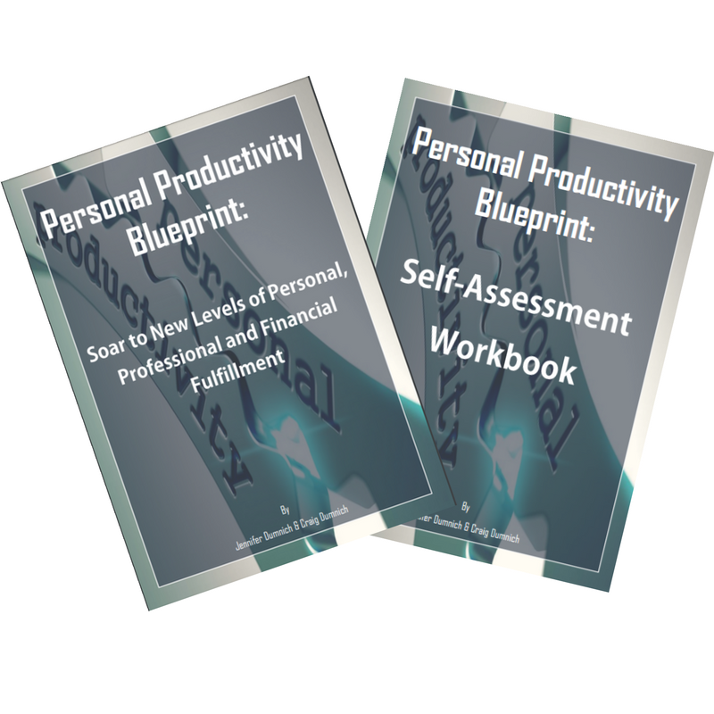 personal productivity blueprint covers
